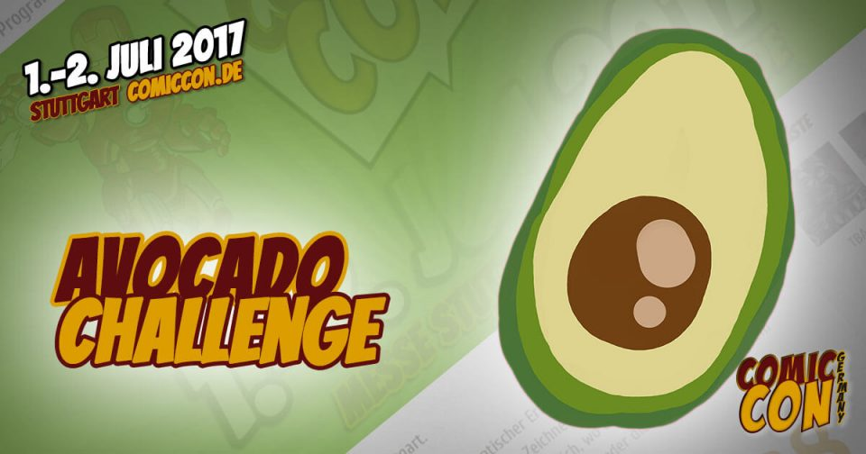 Comic Con Germany 2017 | Avocado Challenge