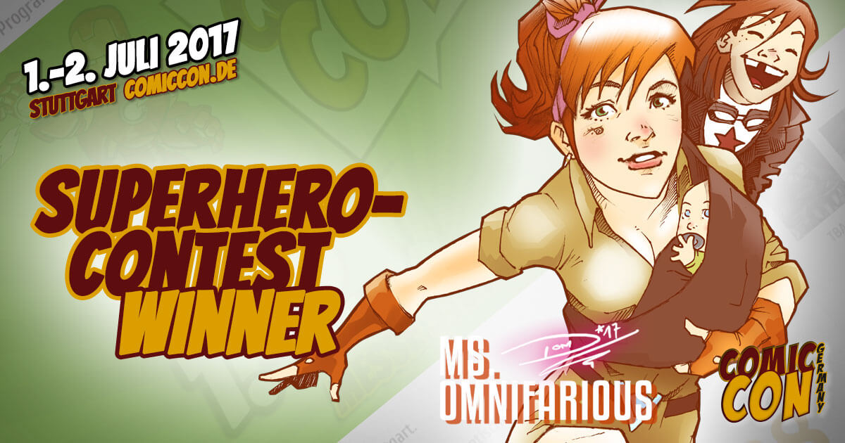Comic Con Germany 2017 |Superhero-Contest Winner