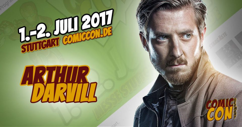 Comic Con Germany 2017 | Starguest | Arthur Darvill