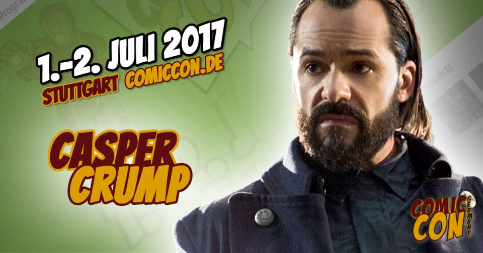 Comic Con Germany 2017 | Starguest | Casper Crump