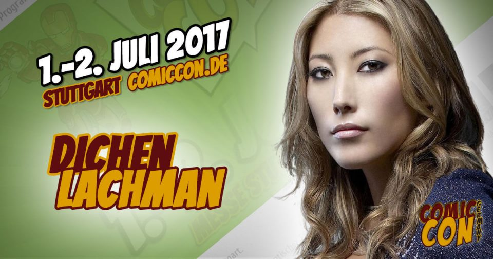 Comic Con Germany 2017 | Starguest | Dichen Lachman