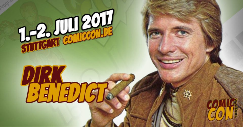 Comic Con Germany 2017 | Starguest | Dirk Benedict