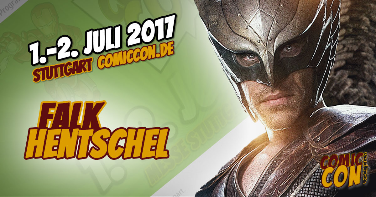 Comic Con Germany 2017 | Starguest | Falk Hentschel