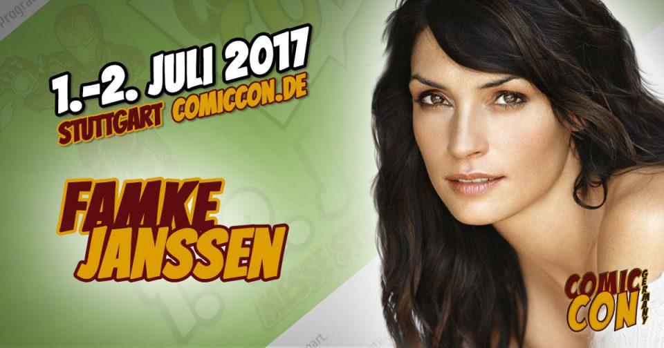 Comic Con Germany 2017 |Starguest | Famke Janssen