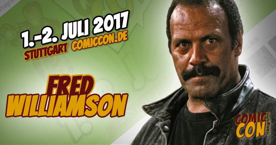 Comic Con Germany 2017 | Starguest | Fred Williamson