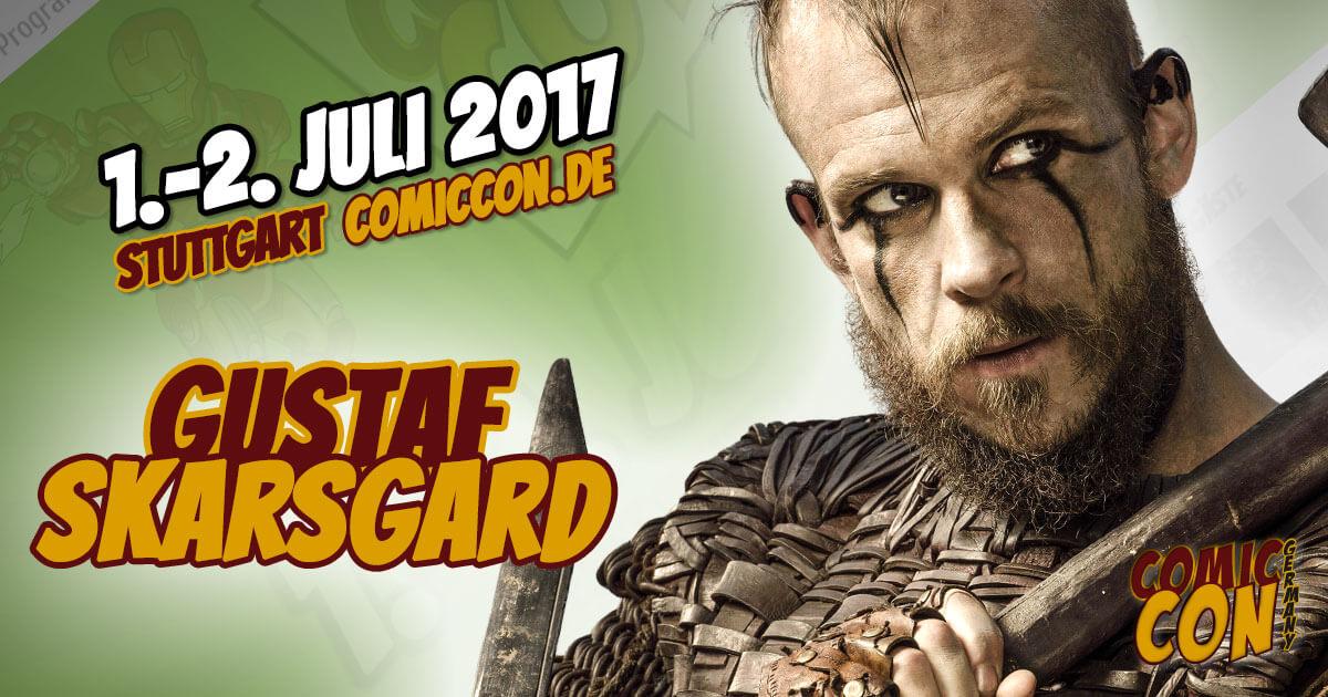 Comic Con Germany 2017 |Starguest | Gustaf Skarsgard