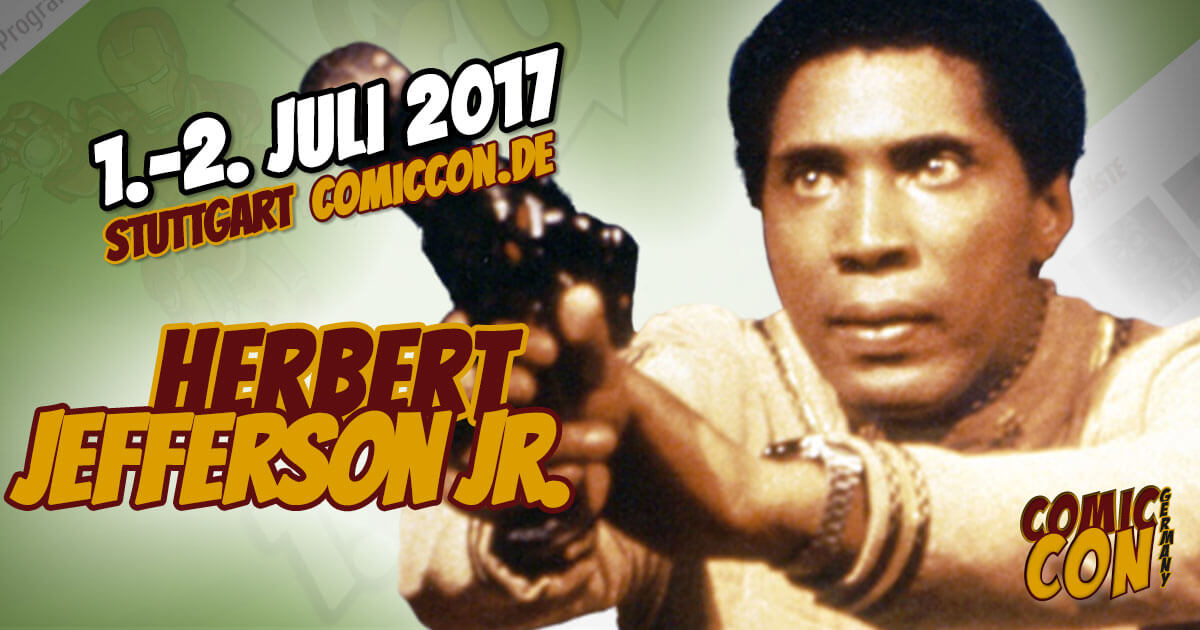 Comic Con Germany 2017 | Starguest | Herbert Jefferson jr.