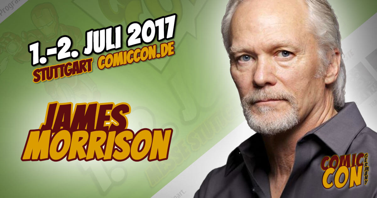 Comic Con Germany 2017 | Starguest | James Morrison