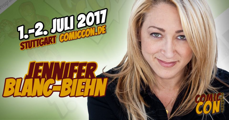 Comic Con Germany 2017 | Starguest | Jennifer Blanc-Biehn