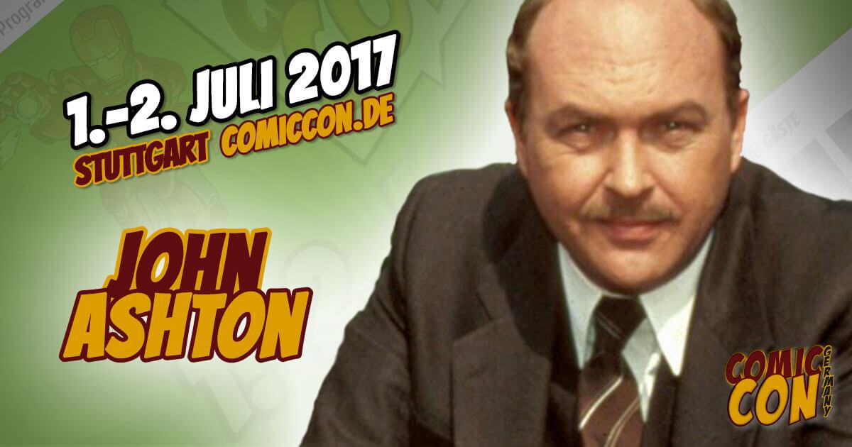 Comic Con Germany 2017 |Starguest | John Ashton
