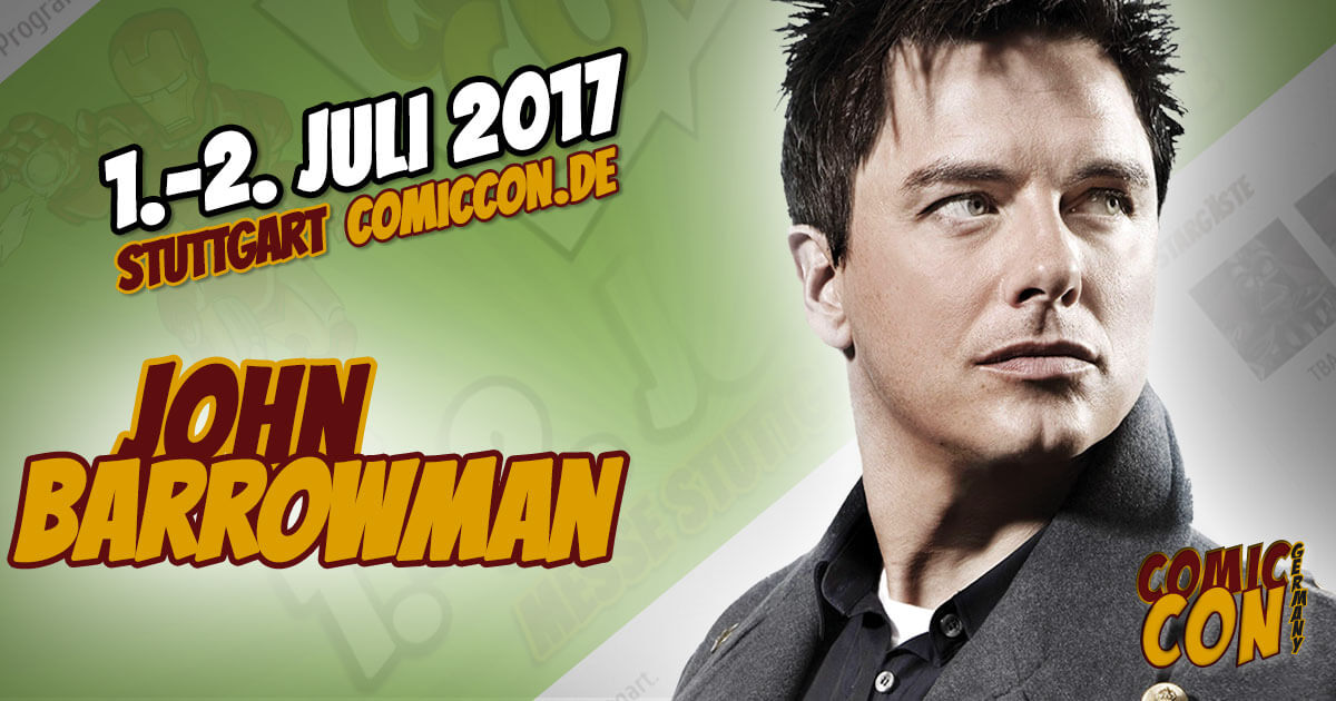 Comic Con Germany 2017 | Starguest | John Barrowman