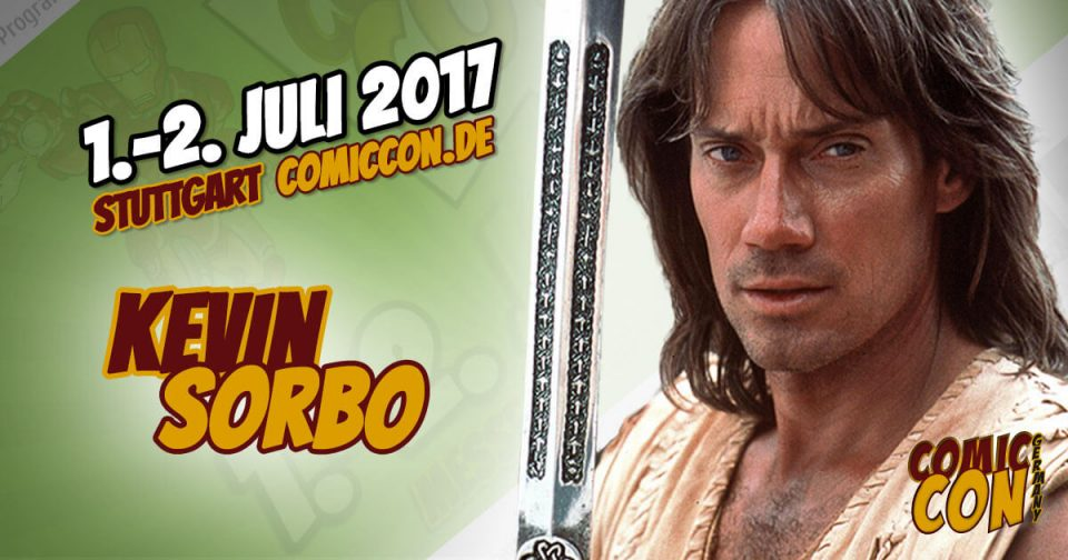 Comic Con Germany 2017 | Starguest | Kevin Sorbo