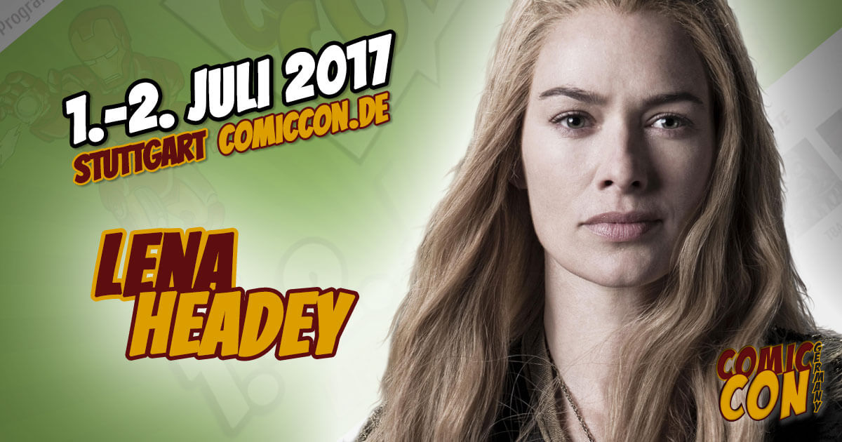 Comic Con Germany 2017 | Starguest | Lena Headey