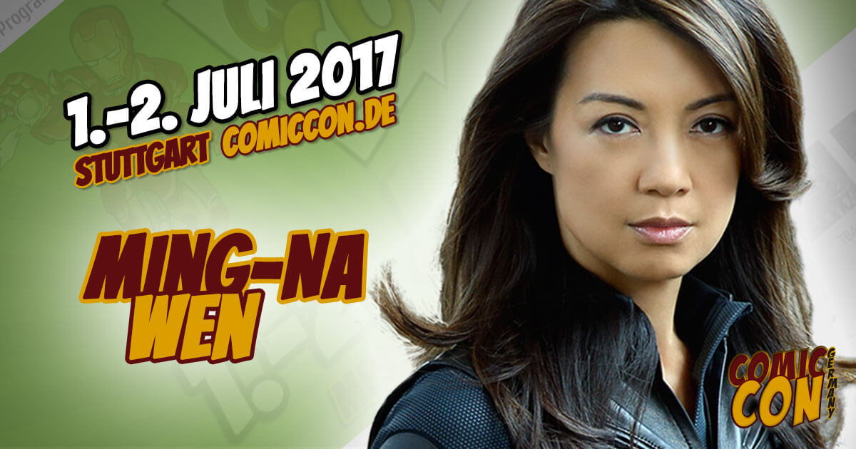 Comic Con Germany 2017 | Starguest | Ming-Na Wen