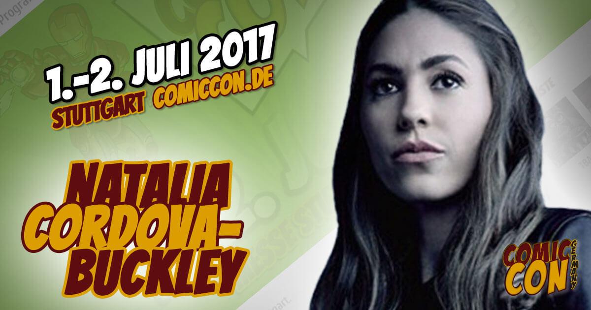 Comic Con Germany 2017  Starguest   Natalia Cordova-Buckley