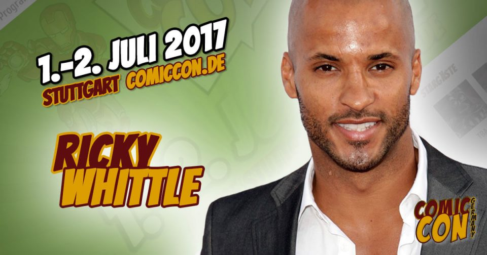 Comic Con Germany 2017 | Starguest | Ricky Whittle