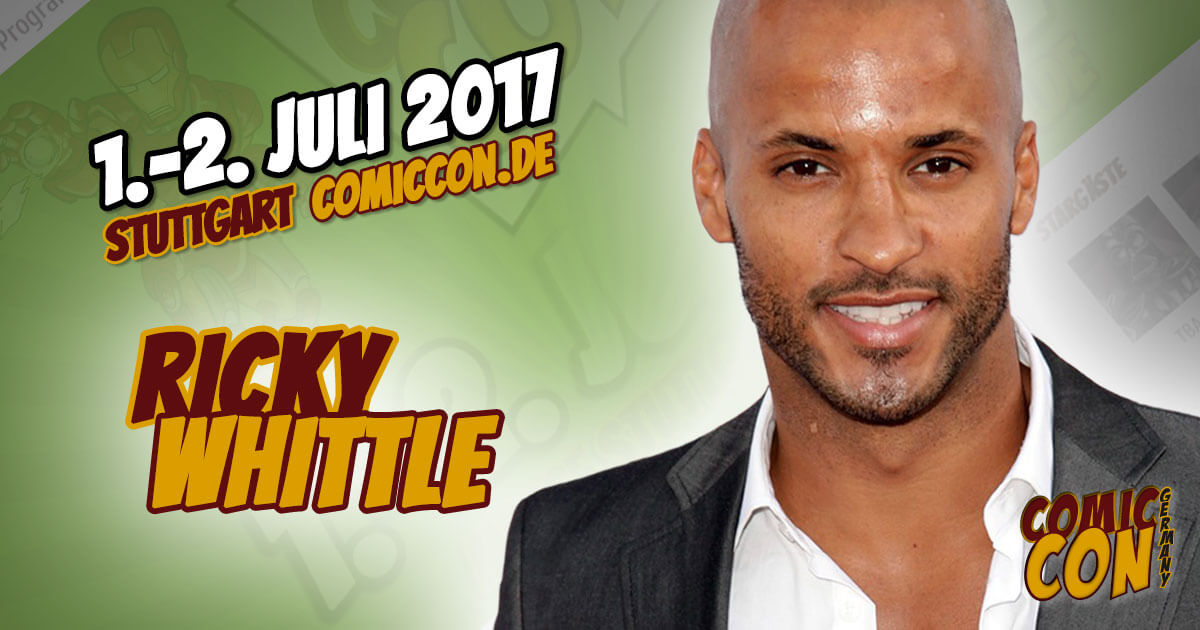 Comic Con Germany 2017 |Starguest | Ricky Whittle