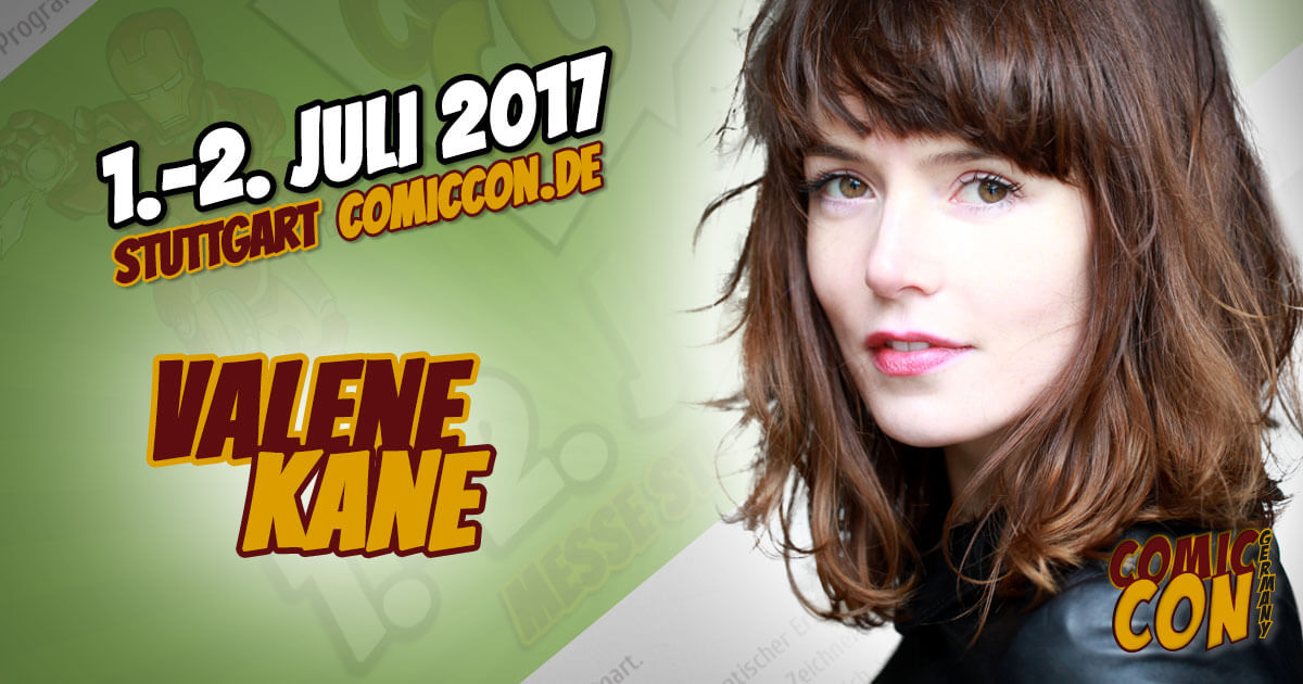 Comic Con Germany 2017 |Starguest | Valene Kane