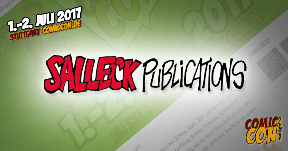 Comic Con Germay | Verlag | Salleck Publications